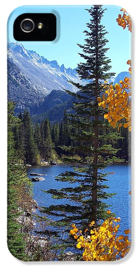 Rocky IPhone 5 Case featuring the photograph Fall At Bear Lake by Tranquil Light Photography