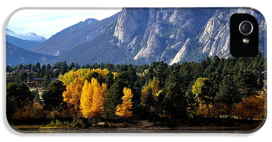 Rocky Mountain National Park IPhone 5 Case featuring the photograph Fall At Lake Estes by Tranquil Light Photography