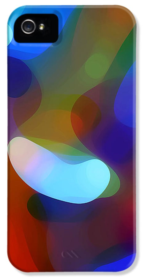 IPhone 5 Case featuring the painting Falling Light by Amy Vangsgard