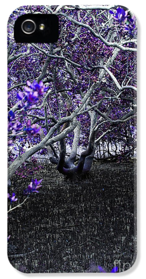 Wood IPhone 5 Case featuring the photograph Fantasywood by Fabian Roessler
