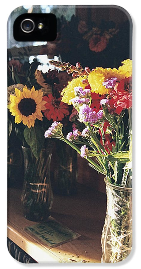 Bouquets IPhone 5 Case featuring the photograph Farm Stand by Caitlyn Grasso
