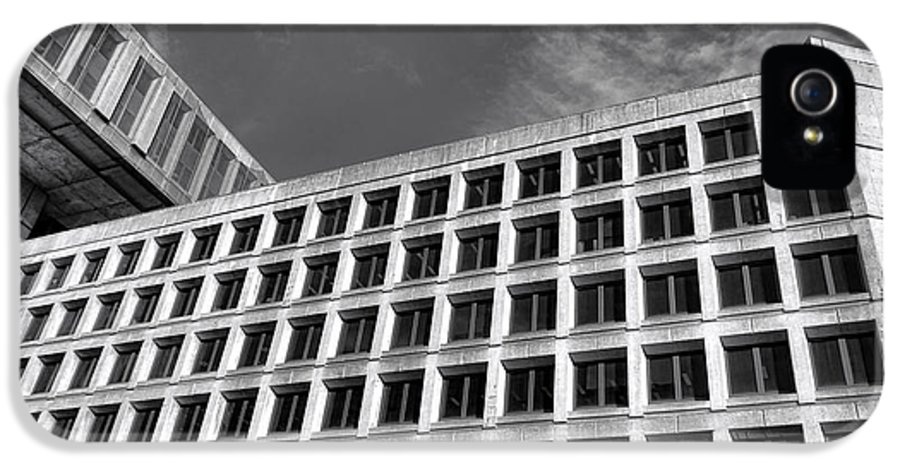 Fbi IPhone 5 Case featuring the photograph Fbi Building Side View by Olivier Le Queinec