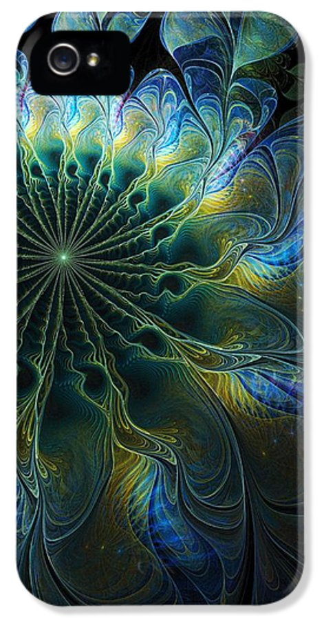 Digital Art IPhone 5 Case featuring the digital art Feathered by Amanda Moore
