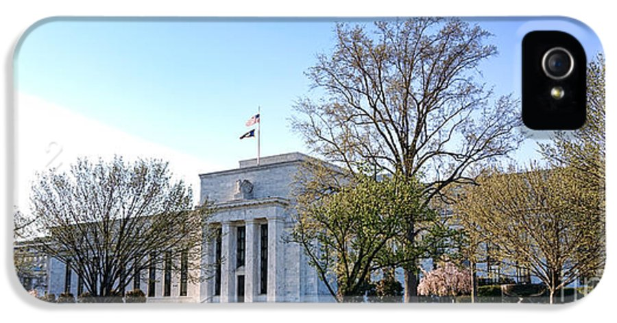 Federal IPhone 5 Case featuring the photograph Federal Reserve Building by Olivier Le Queinec