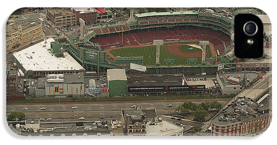 Fenway Park IPhone 5 Case featuring the photograph Fenway by Joshua House