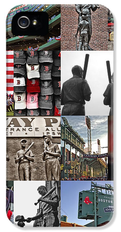 Boston Red Sox IPhone 5 Case featuring the photograph Fenway Memories by Joann Vitali