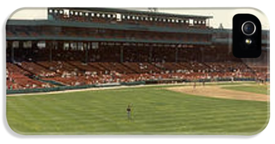 Fenway Park IPhone 5 Case featuring the photograph Fenway Park - Early Version by David Bearden