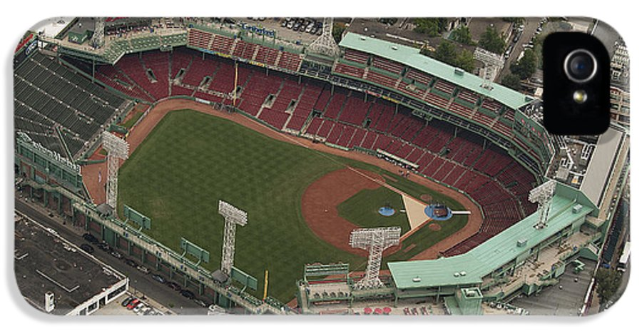 Fenway Park IPhone 5 Case featuring the photograph Fenway Park by Joshua House