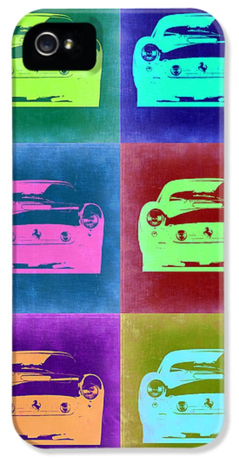 Ferrari 250 Gtb IPhone 5 Case featuring the painting Ferrari Pop Art 2 by Naxart Studio
