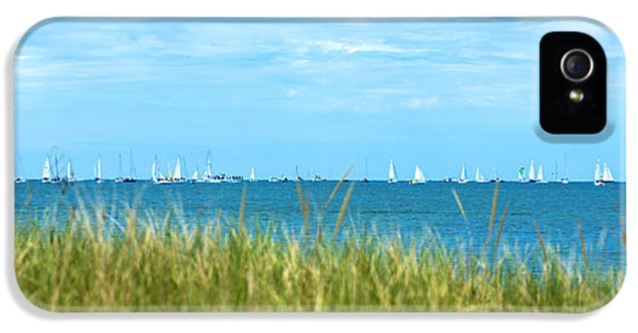 Sailboats IPhone 5 / 5s Case featuring the photograph Figawi Sailboat Race by Diane Diederich