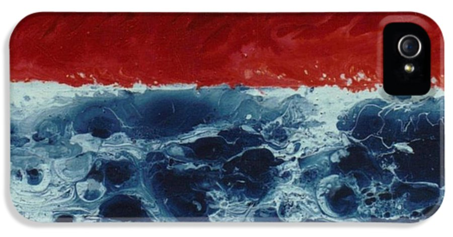 Painting IPhone 5 Case featuring the painting Fire And Water by David Neace
