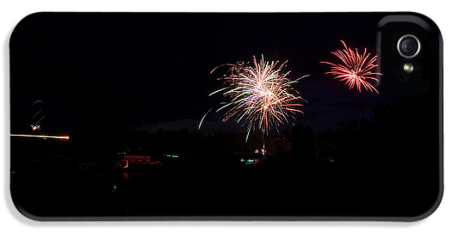 Ice IPhone 5 Case featuring the photograph Fireworks 49 by Cassie Marie Photography