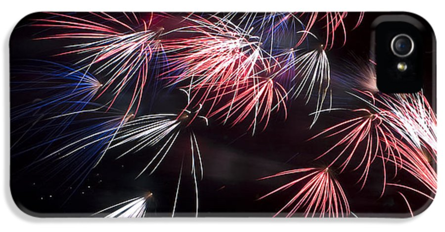 4th Of July IPhone 5 Case featuring the photograph Fireworks 9 by Sandy Swanson
