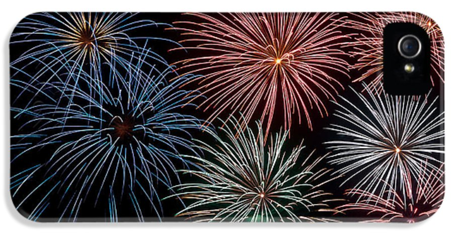 Celebration IPhone 5 Case featuring the photograph Fireworks Extravaganza 4 by Steve Purnell