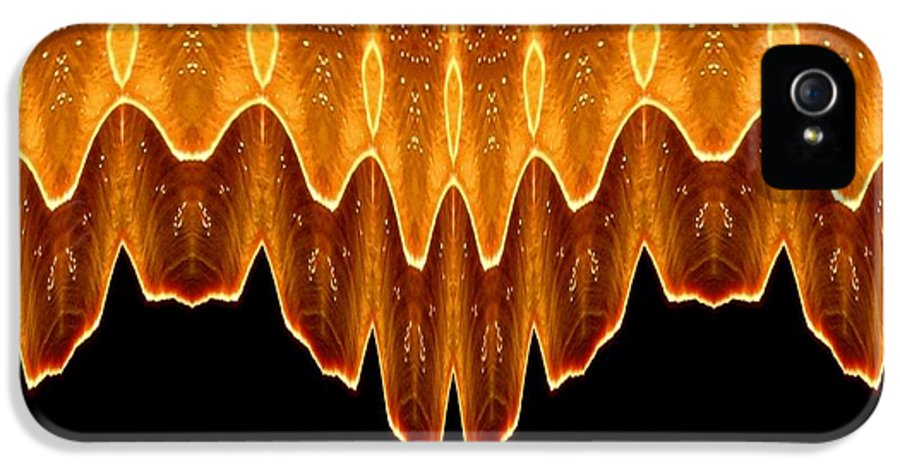 Fireworks IPhone 5 Case featuring the photograph Fireworks Melting Abstract by Rose Santuci-Sofranko