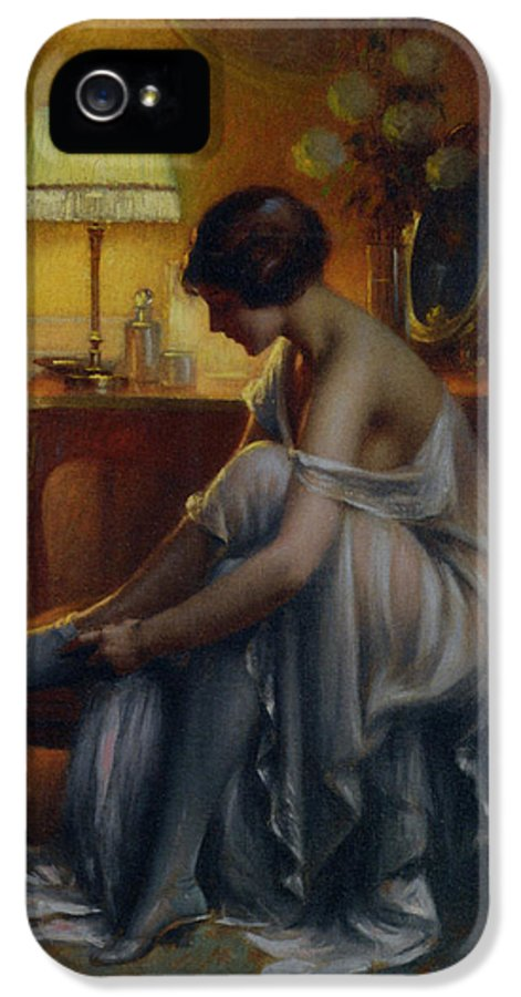 Delphin Enjolras IPhone 5 Case featuring the digital art First Primers by Delphin Enjolras