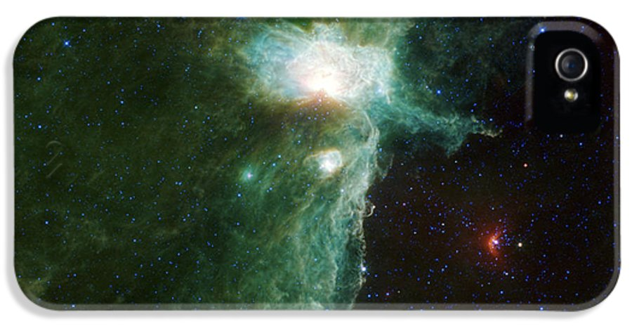 3scape Photos IPhone 5 Case featuring the photograph Flame Nebula by Adam Romanowicz