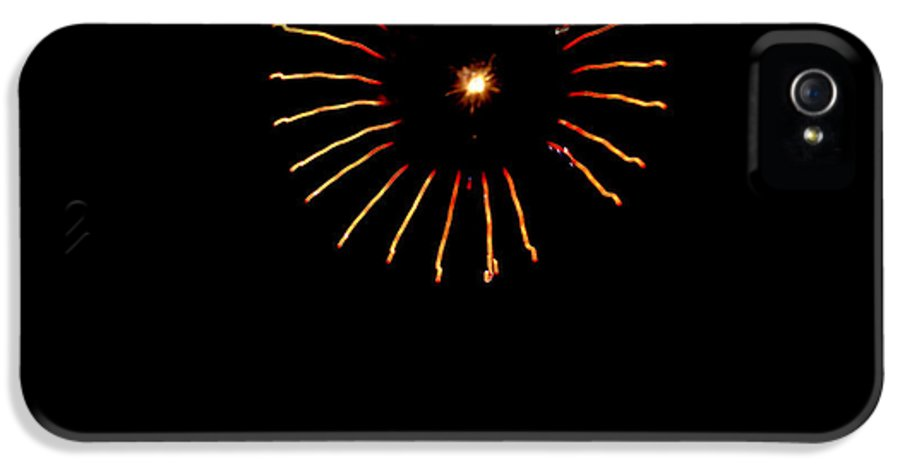 Fireworks IPhone 5 Case featuring the photograph Flower Fireworks by Robert Bales