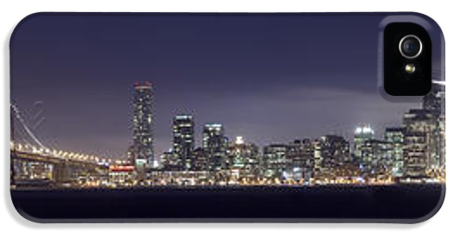 Fog City IPhone 5 Case featuring the photograph Fog City San Francisco by Mike Reid
