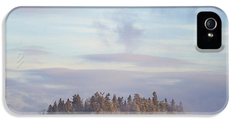 Fog IPhone 5 Case featuring the photograph Fogscape by Evelina Kremsdorf