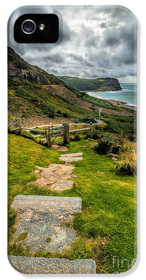 Beach IPhone 5 Case featuring the photograph Follow The Path by Adrian Evans