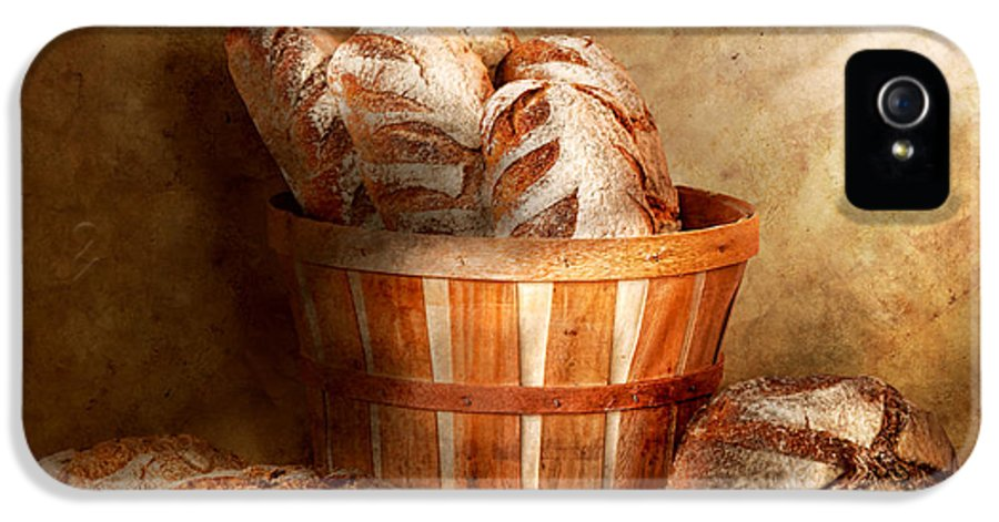 Bread IPhone 5 Case featuring the photograph Food - Bread - Your Daily Bread by Mike Savad