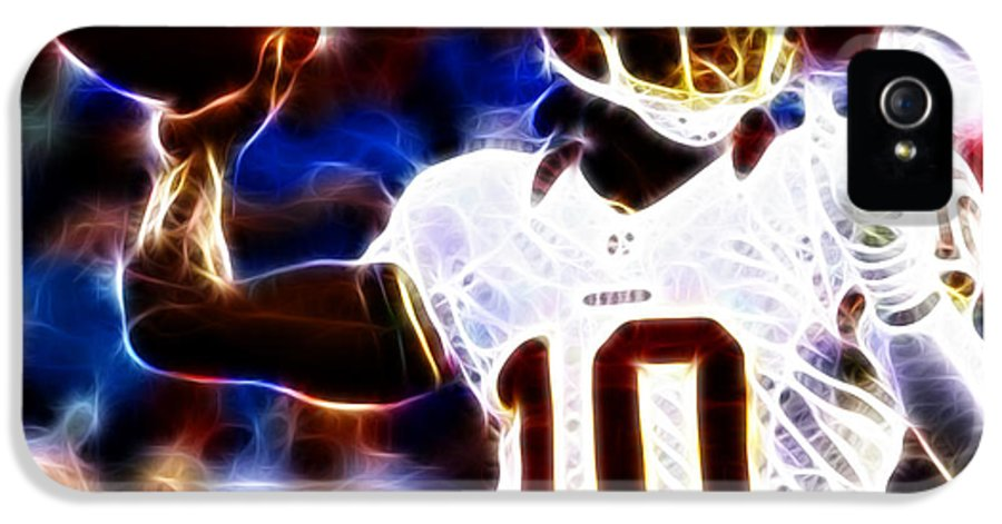 Rg3 IPhone 5 Case featuring the photograph Football - Rg3 - Robert Griffin IIi by Paul Ward