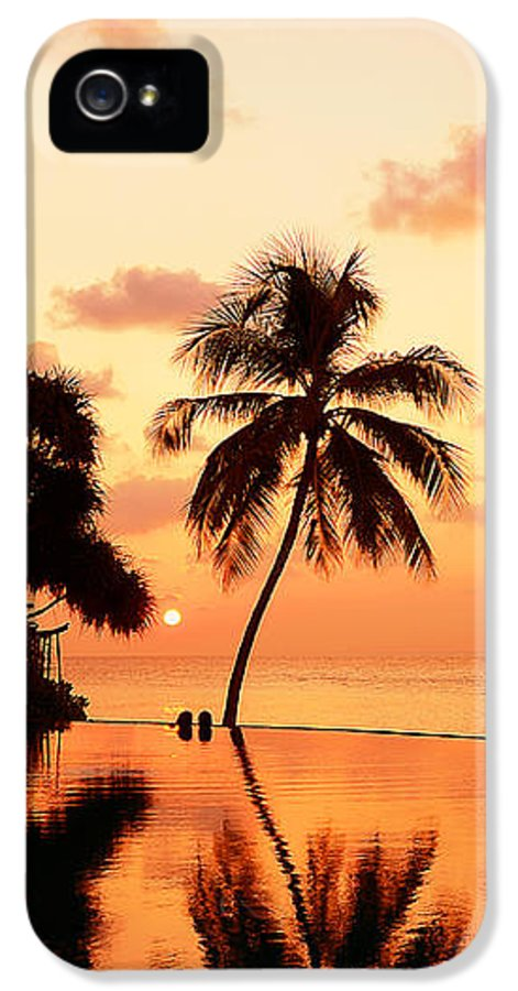 Jenny Rainbow Fine Art Photography IPhone 5 Case featuring the photograph For You. Dream Comes True II. Maldives by Jenny Rainbow