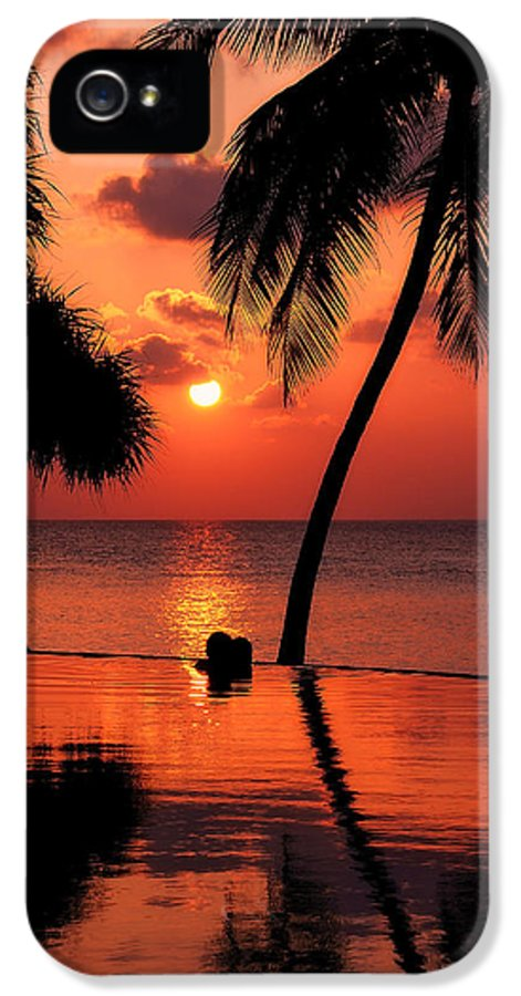 Love IPhone 5 Case featuring the photograph For You. Dream Coming True I. Maldives by Jenny Rainbow