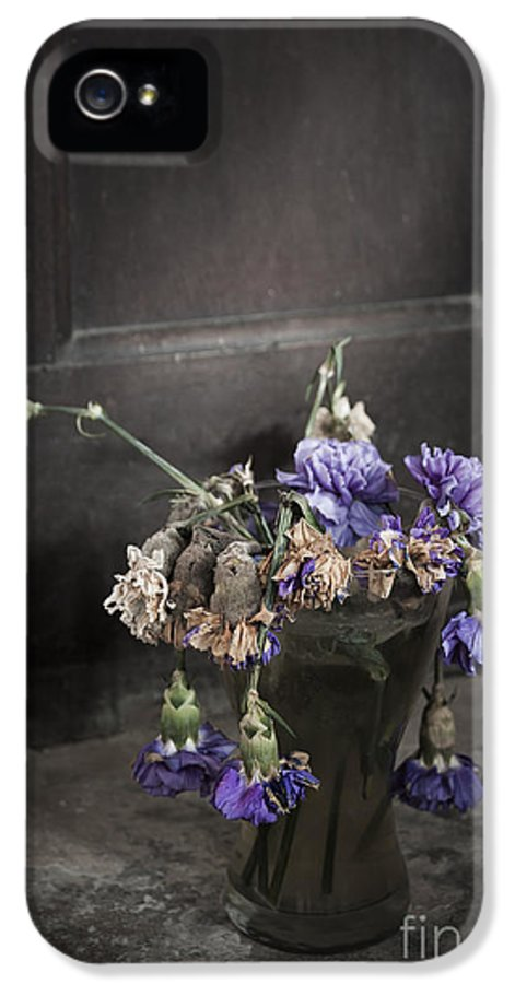 Dead IPhone 5 Case featuring the photograph Forgotten Flowers by Svetlana Sewell