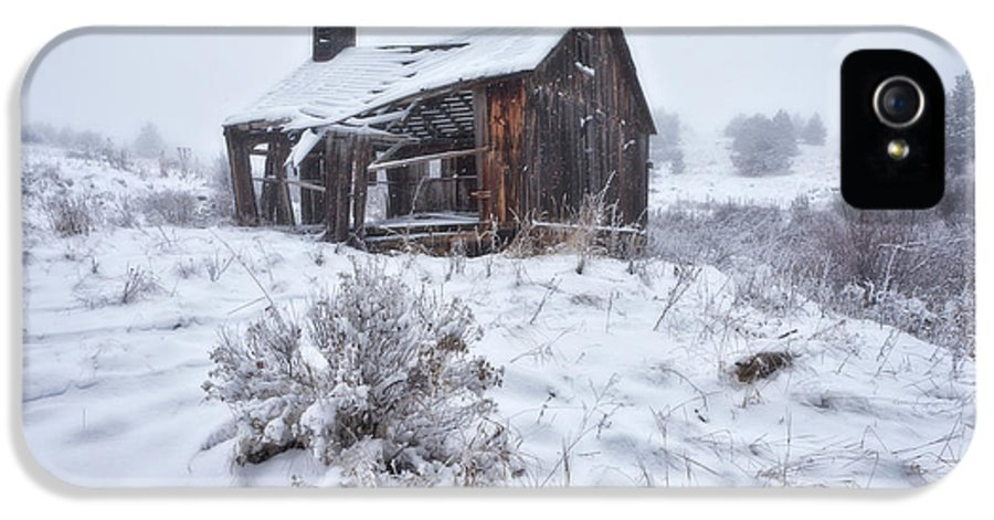 Ghost Town IPhone 5 Case featuring the photograph Forgotten In Time by Darren White
