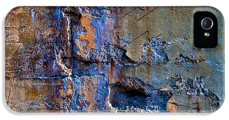 Industrial IPhone 5 Case featuring the photograph Foundation Seven by Bob Orsillo