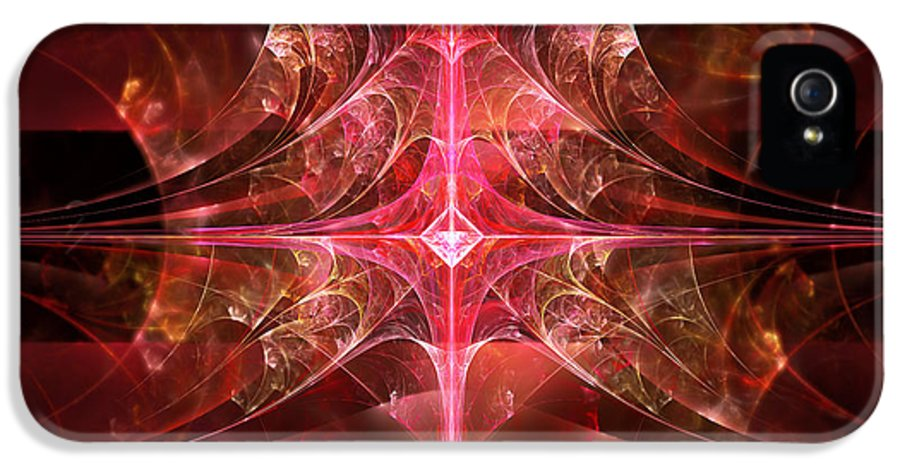 Fractal IPhone 5 Case featuring the photograph Fractal - Abstract - The Essecence Of Simplicity by Mike Savad