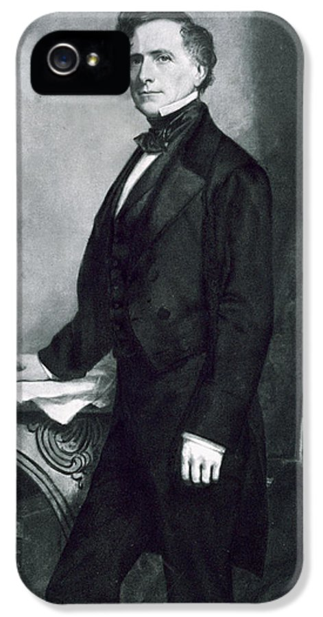 Franklin Pierce IPhone 5 Case featuring the painting Franklin Pierce by George Healy