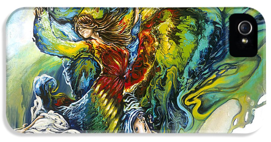 Freedom IPhone 5 Case featuring the painting Freedom by Karina Llergo