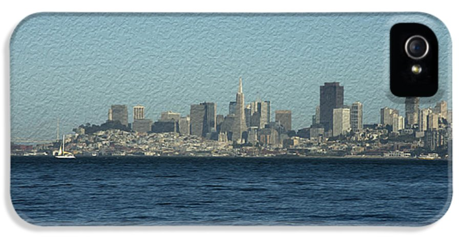 Sausalito IPhone 5 Case featuring the photograph From Sausalito by David Bearden