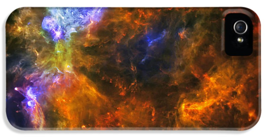 Universe IPhone 5 Case featuring the photograph From The Darkness by Jennifer Rondinelli Reilly - Fine Art Photography