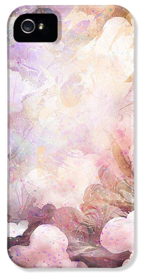 Gabriel IPhone 5 Case featuring the digital art Gabriel by Rachel Christine Nowicki