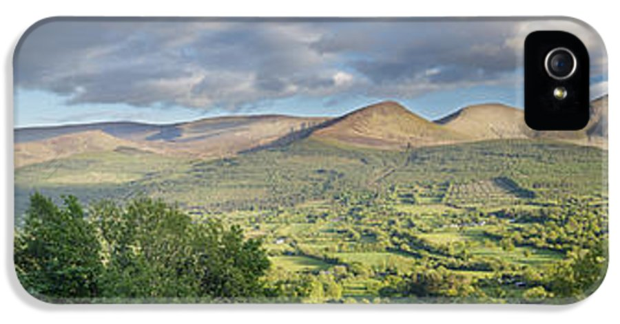 Galty Mountains IPhone 5 Case featuring the photograph Galty Mountains 1 by Michael David Murphy