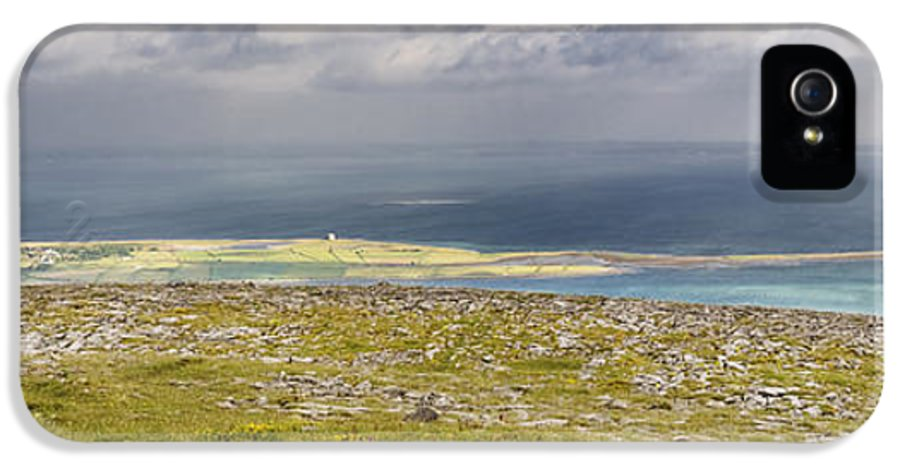 Abbey Hill IPhone 5 Case featuring the photograph Galway Bay From Abbey Hill by Michael David Murphy