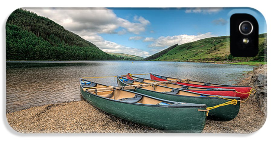 Betws Y Coed IPhone 5 Case featuring the photograph Geirionydd Lake by Adrian Evans