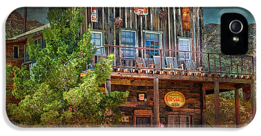 General IPhone 5 Case featuring the photograph General Store by Gunter Nezhoda