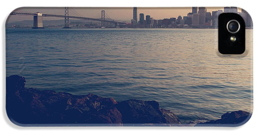 San Francisco IPhone 5 Case featuring the photograph Gently The Evening Comes by Laurie Search