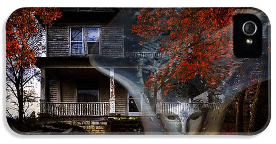 Appalachia IPhone 5 Case featuring the photograph Ghost by Debra and Dave Vanderlaan