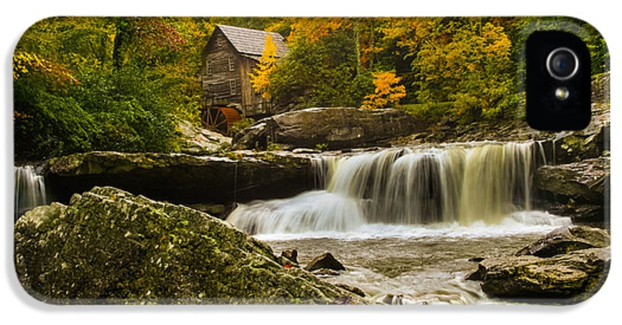 Glade Creek IPhone 5 Case featuring the photograph Glade Creek Grist Mill by Shane Holsclaw