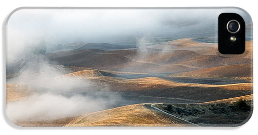 Hills IPhone 5 Case featuring the photograph Golden Shadows by Mike Dawson