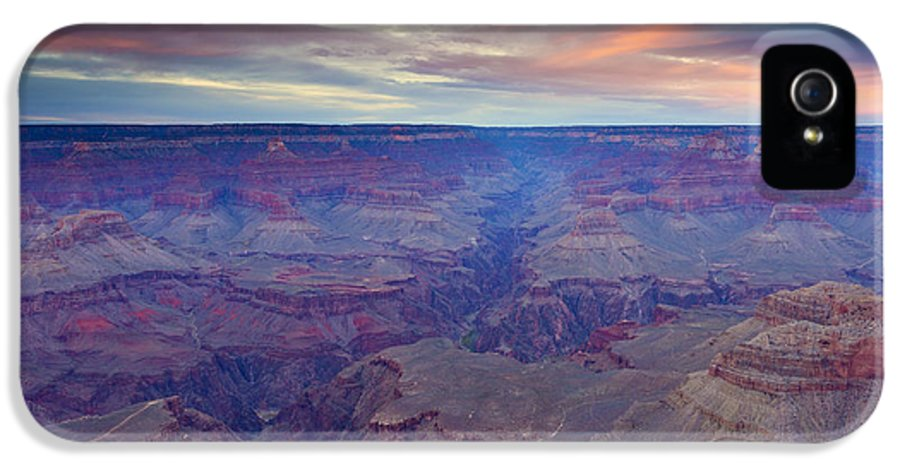 Grand Canyon IPhone 5 Case featuring the photograph Grand Canyon Dusk by Mike Dawson