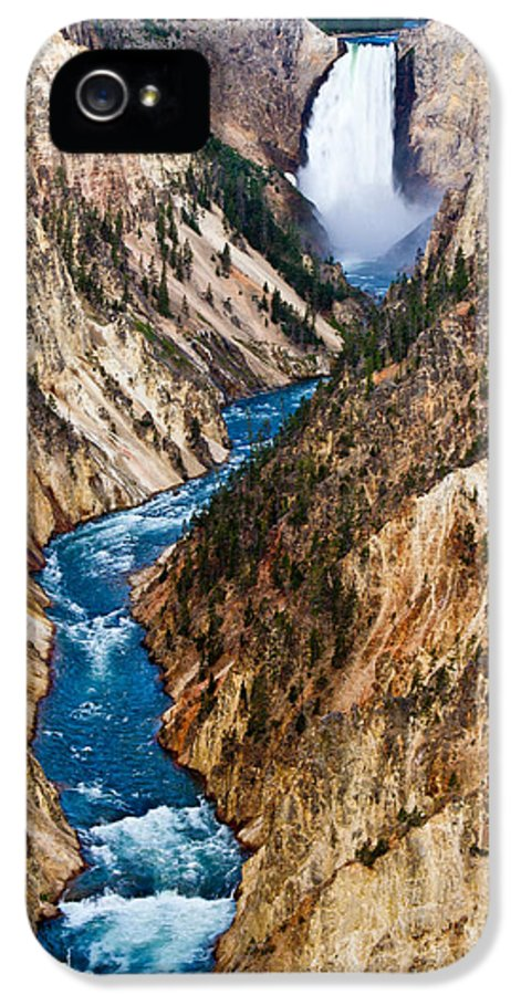 Grand Canyon Of Yellowstone IPhone 5 Case featuring the photograph Grand Canyon Of Yellowstone by Bill Gallagher