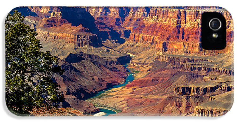Grand Canyon IPhone 5 Case featuring the photograph Grand Canyon Sunset by Robert Bales
