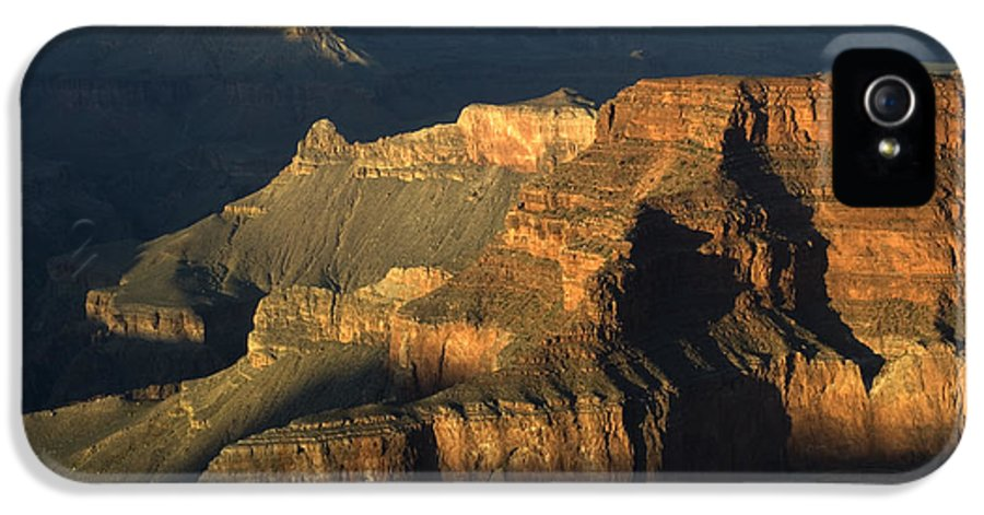 Grand Canyon IPhone 5 Case featuring the photograph Grand Canyon Symphony Of Light And Shadow by Bob Christopher